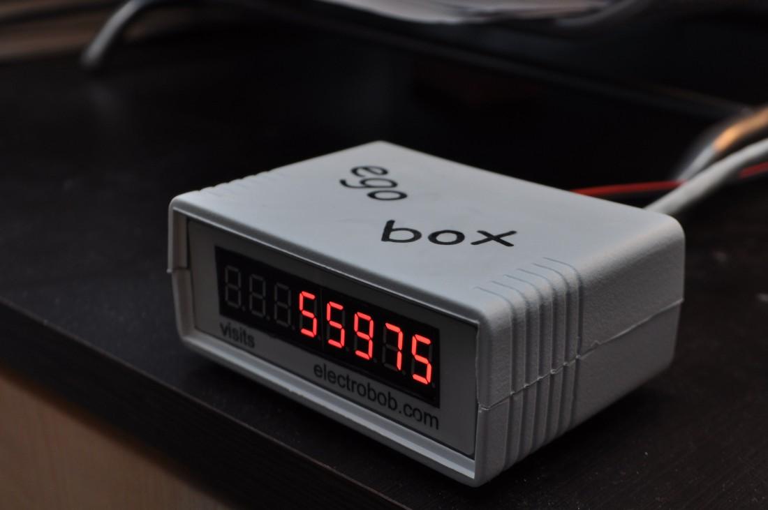 Egobox - elektroniczny licznik odwiedzin strony ;-)